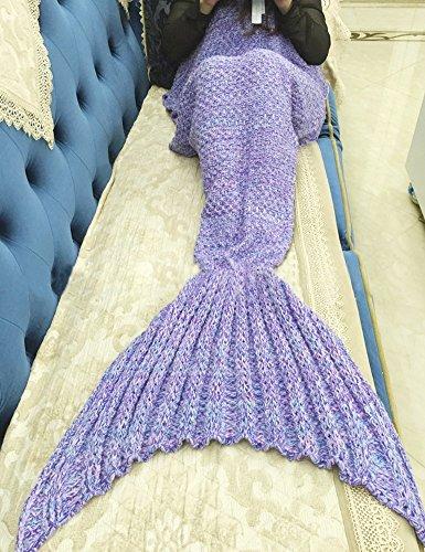 Meerjungfrau Decken Selber Häkeln Häkelanleitung Kostenlos